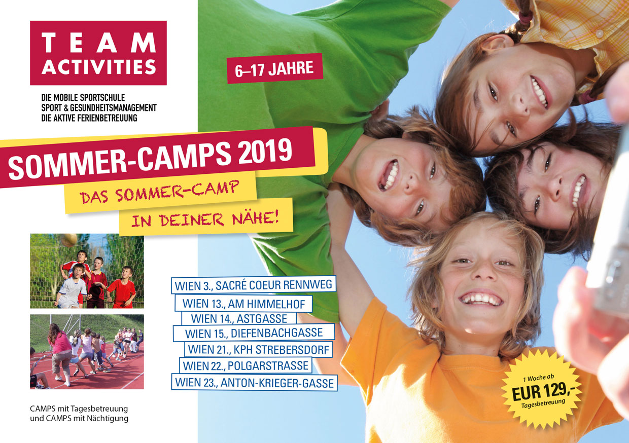Flyer Sommercamps